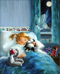 Sweet Dreams art by John Worsley