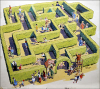 Maze art by John Worsley